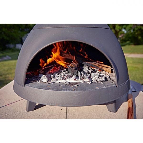 Invicta-Lo-Cigalou-Wood-Pizza-Oven-Front